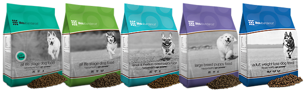 bags of Life's Abundance dog food